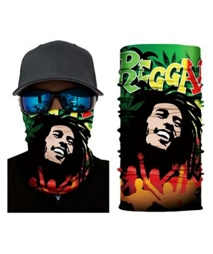Multi Use Tube Bandana Reggae