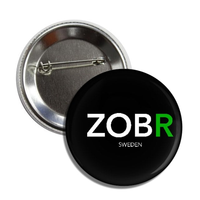ZOBR Pin Button - ZOBR SWEDEN AB