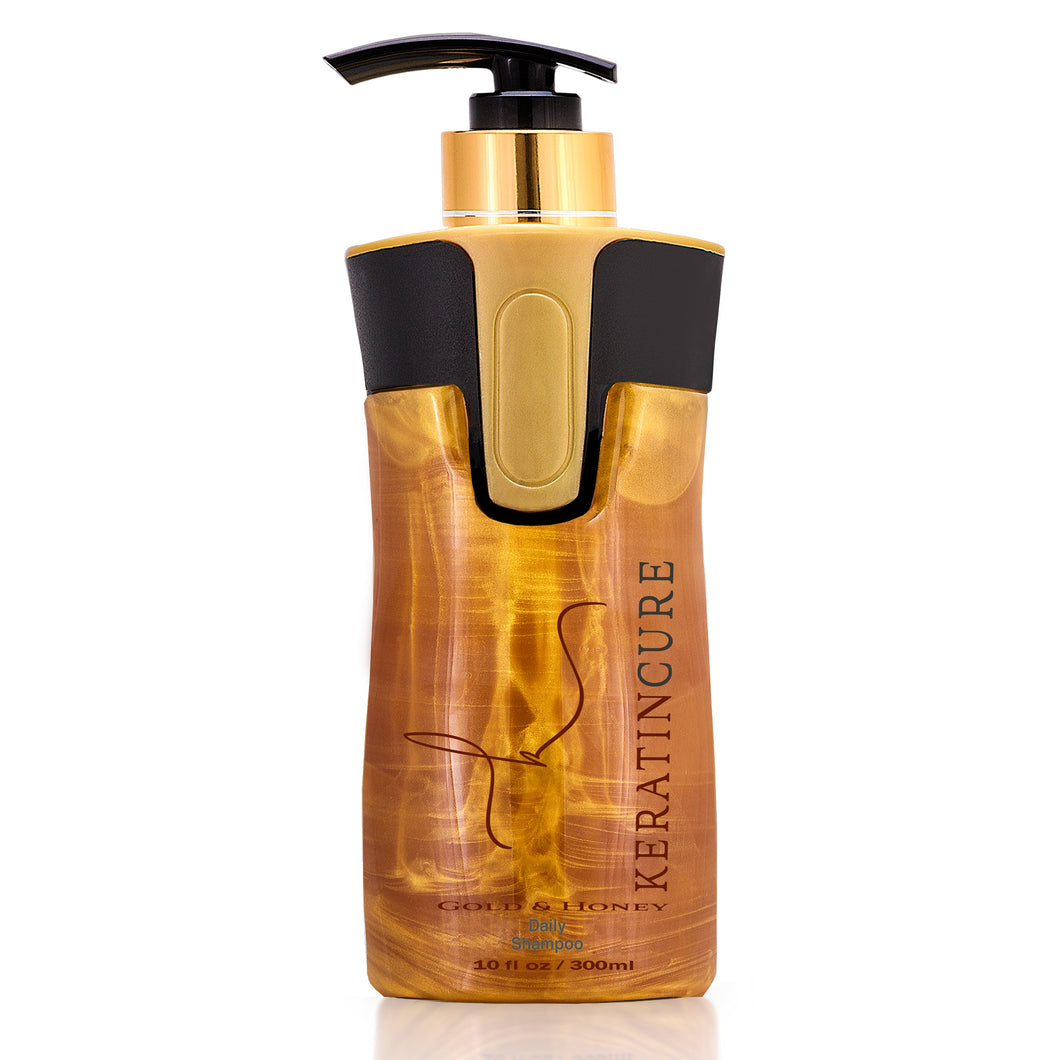 Keratin Cure gold & honey daily shampoo (300ml)