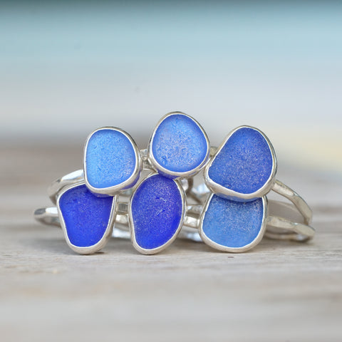 Moonstone Bead Statement Ring Teardrop