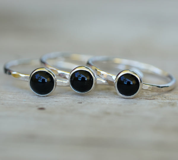Onyx stack ring