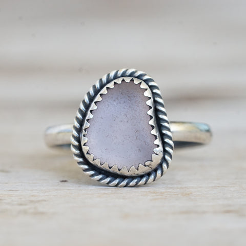 Rhodochrosite Bead Statement Ring