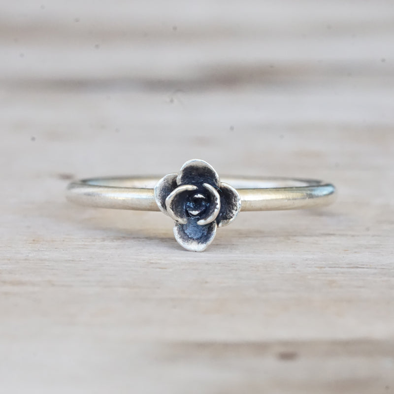 Tiny succulent ring 7