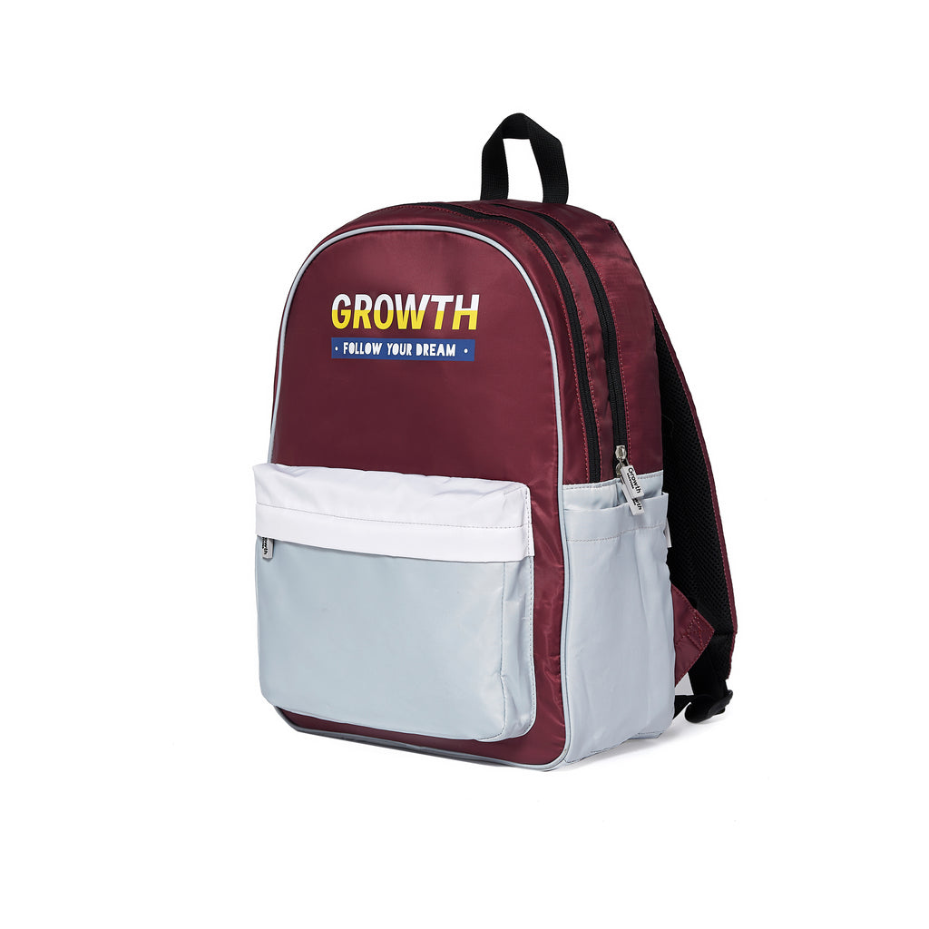 Brilliant Backpack- Burgundy/ White/ Vapor Blue
