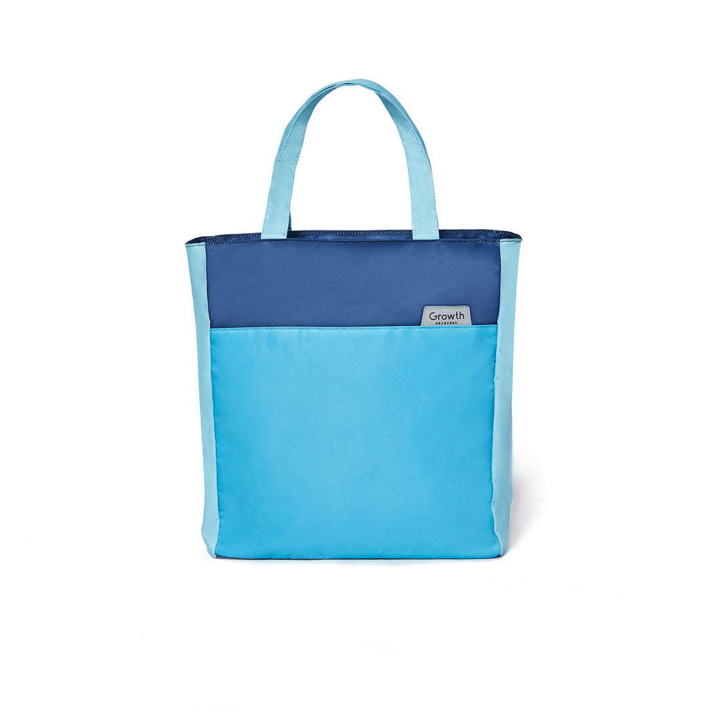 Ocean Tote Bag- Horizon Blue/Petit Four/Ensign Blue