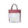Brilliant Tote Bag- Burgundy/ Vapor Blue