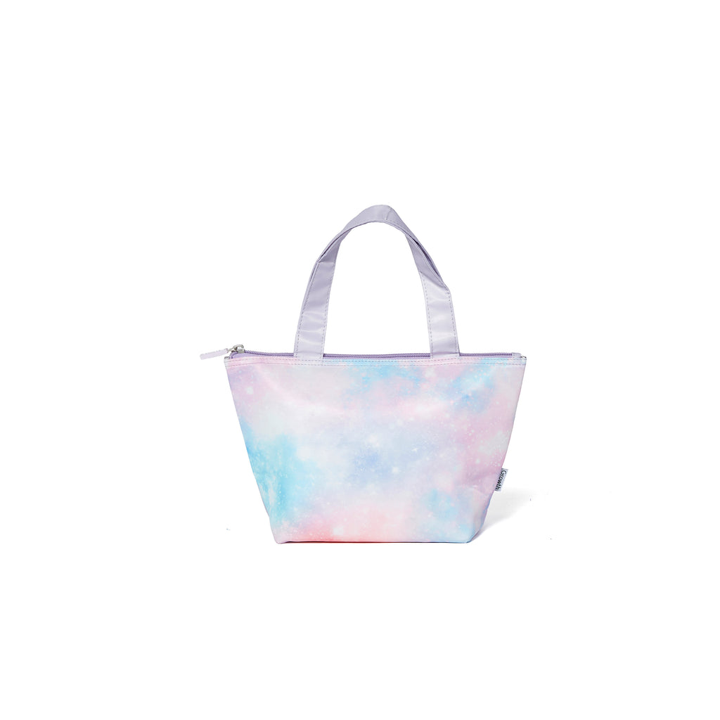 Pastel Galaxy Lunch Bag-Lavender/Pastelgalaxy