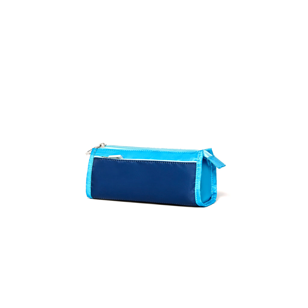 Ocean Pencil Case- Petit Four/Ensign Blue
