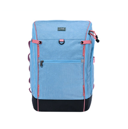 M1 Plus Backpack/Light Blue/Pink