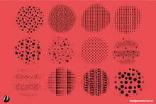 Load image into Gallery viewer, DOTS OBSESSION PROCREATE BRUSHES PACK