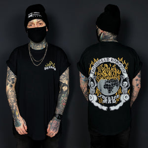 Virus Black T Shirt