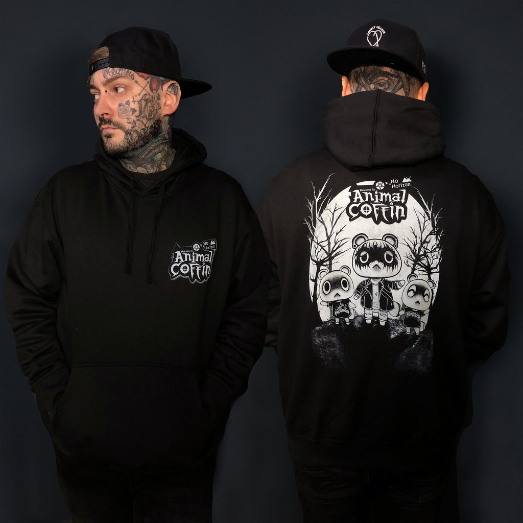 Animal Coffin Pullover Hoodie