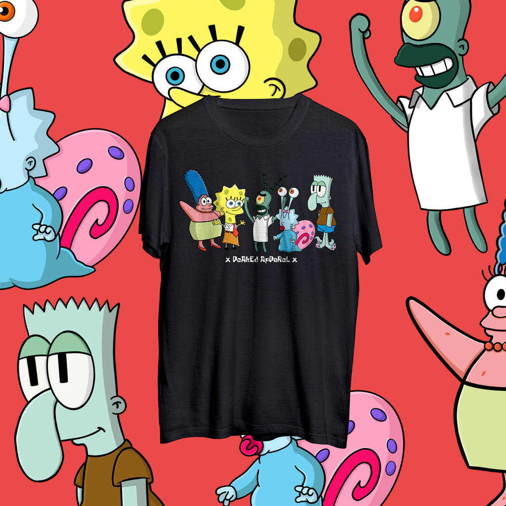 SpongeBart T Shirt