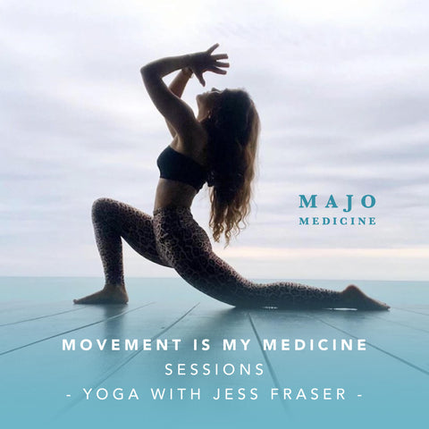 Majo Movement is my medicine yoga sessions
