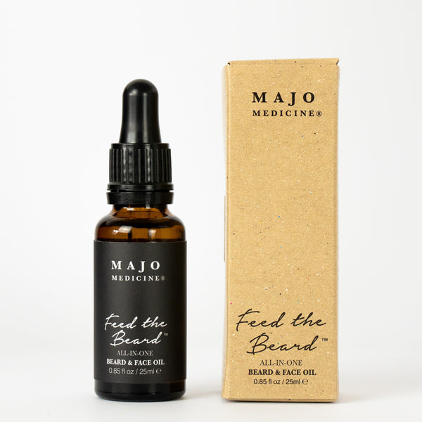 FEED THE BEARD™ MEN'S ALL-IN-ONE FACE & BEARD OIL (25ml)