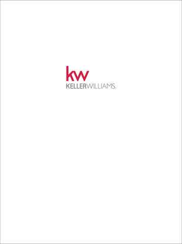 White Keller Williams Presentation Folders