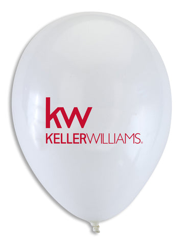 Keller Williams Balloons - White