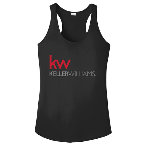 Women's KW Racerback - Black