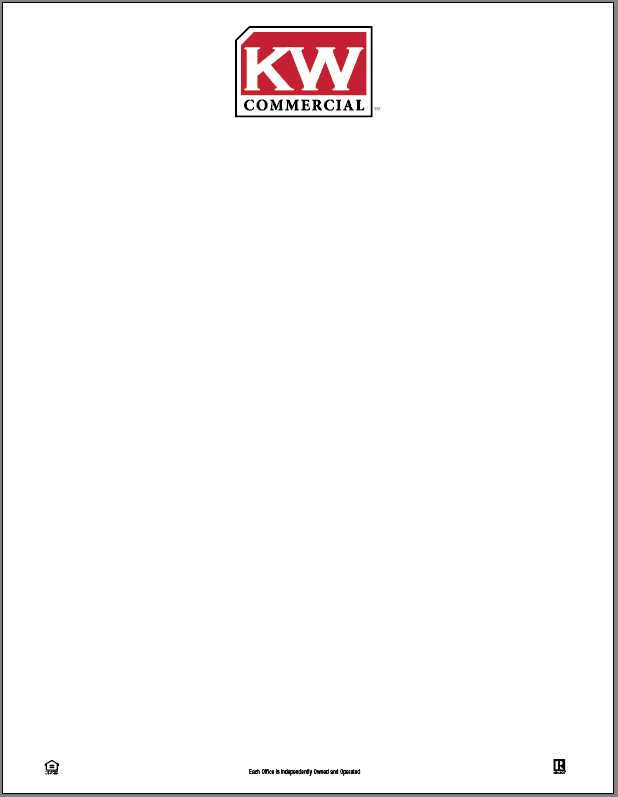 Keller Williams Commercial Letterhead