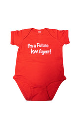 KW Future Agent Screen Printed Onesie