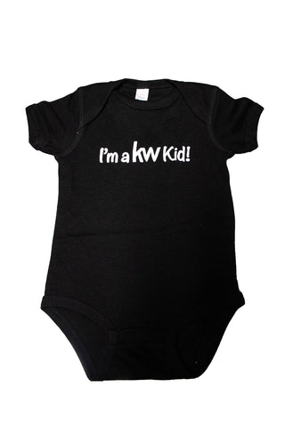 KW Kid Screen Print Onesie