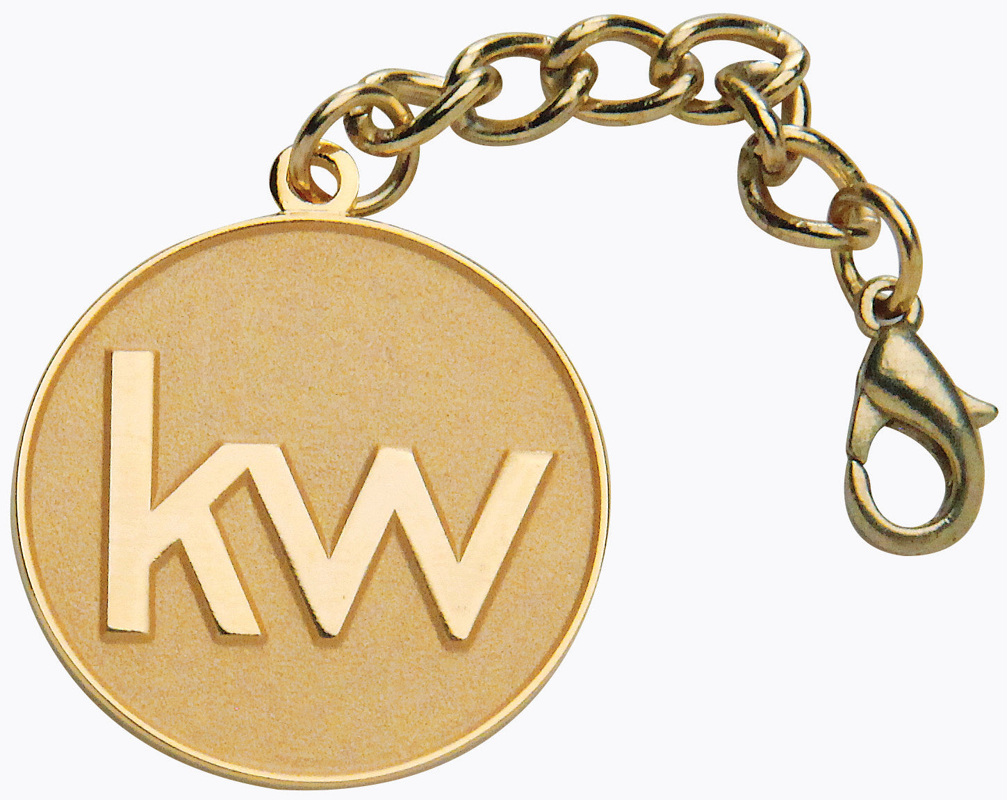 Gold KW Purse Medallions
