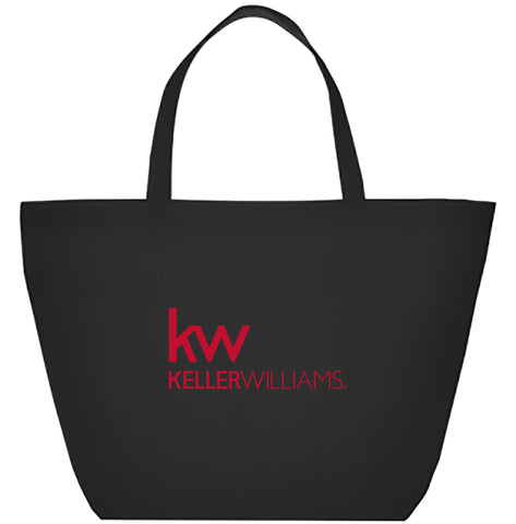 Black KW Reusable Tote
