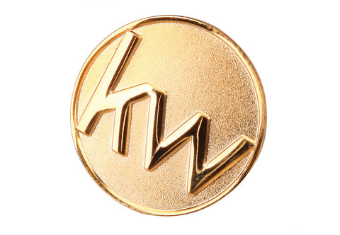 KW Medallion Lapel Pin