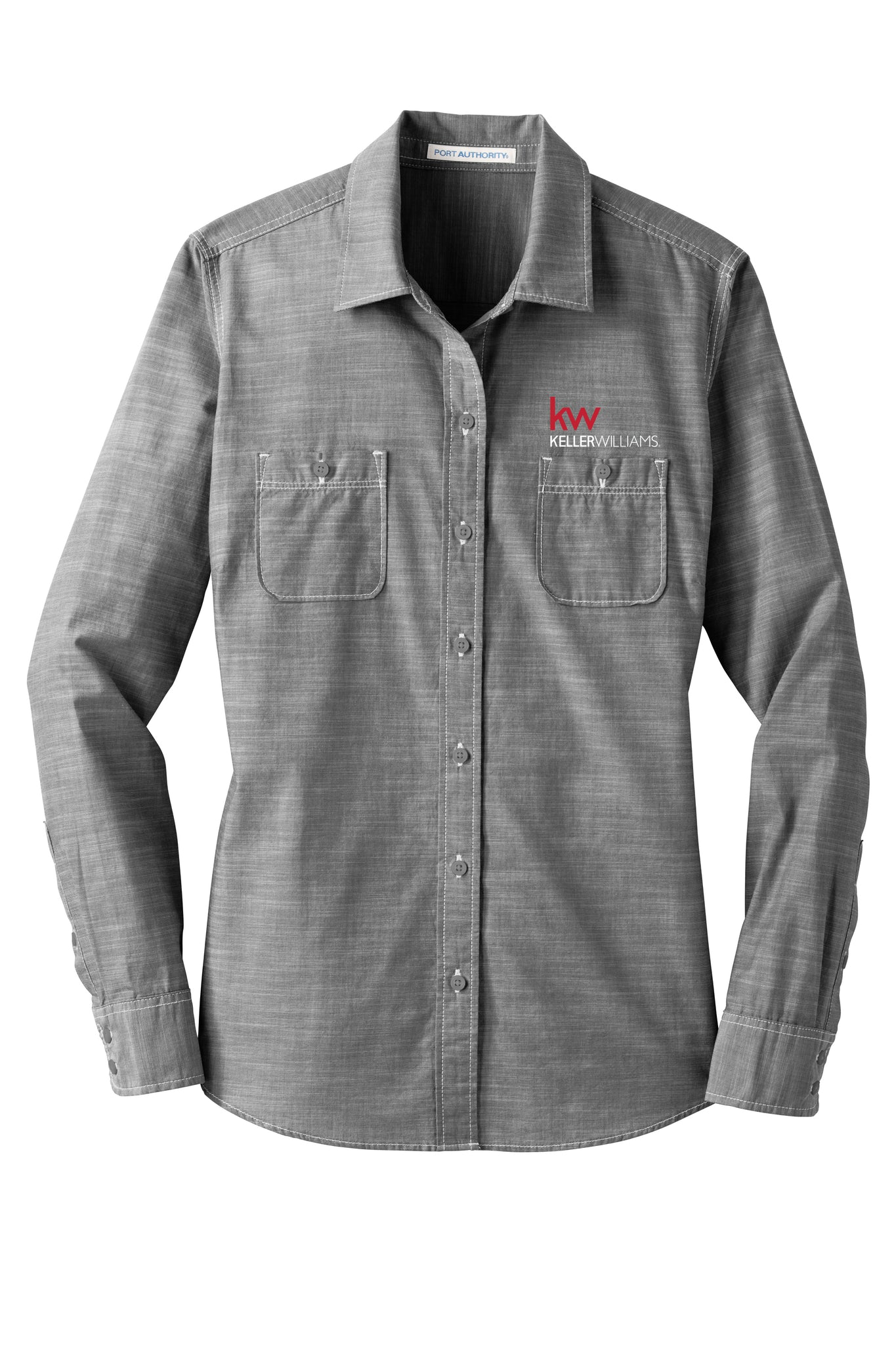 Women's KW Chambray Button Down