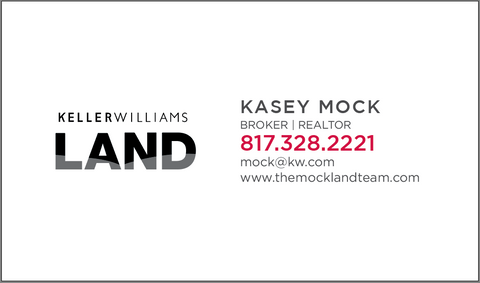 KW LAND Business Card