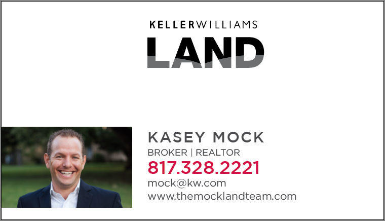 KW LAND Photo Business Card