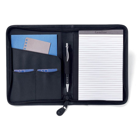 Mini Zippered KW Padfolio