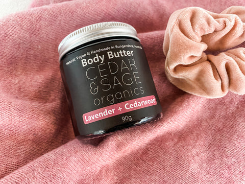 Body Butter – Lavender and Cedarwood - Cedar & Sage Organics