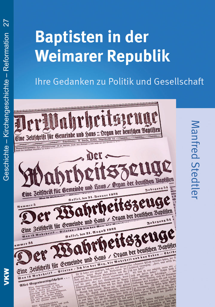 Baptisten in der Weimarer Republik