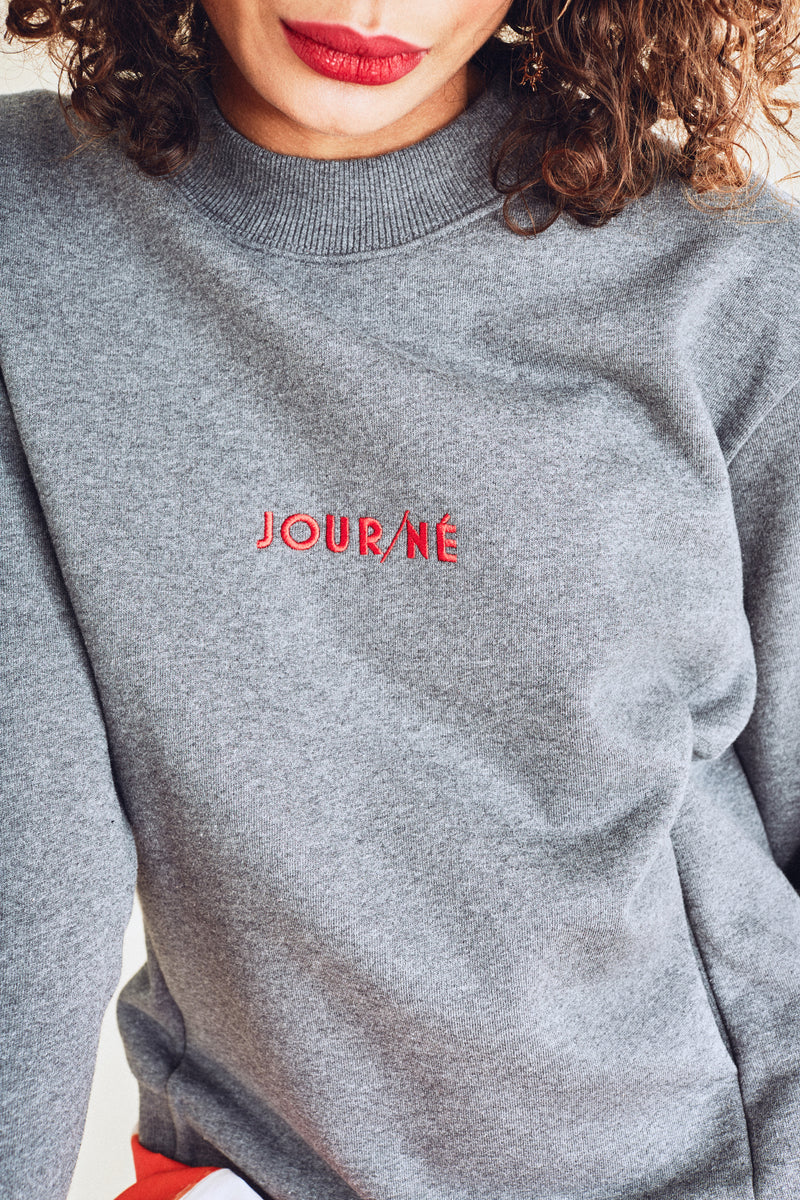 Sweat gris JOUR/NÉ