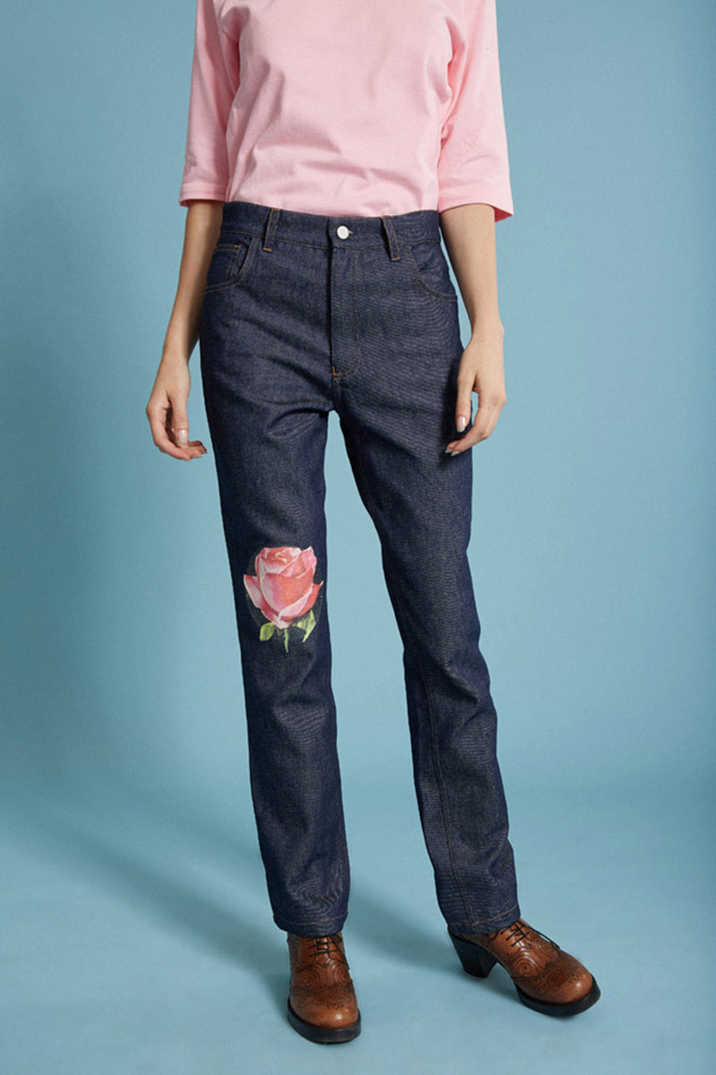 Pantalon en denim Bollywood