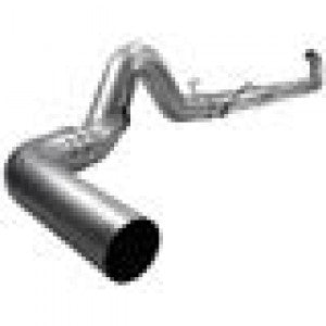 "AFE 49-02032NM ATLAS 5"" Turbo-Back Exhaust System w/o Muffler"