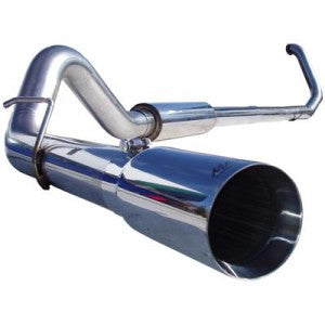 "MBRP 4"" Pro Series Turbo-Back Exhaust System S6200304"
