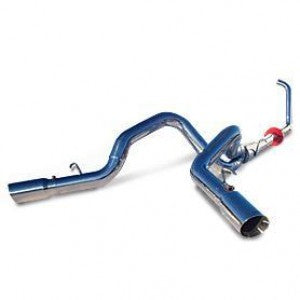 "MBRP 4"" Dual Installer Series Turbo-Back Exhaust System S6210AL"