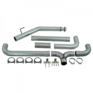 "MBRP 5"" Installer Series Dual Turbo-Back Exhaust Stack System S8116AL"