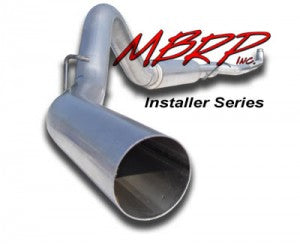 "MBRP 4"" Straight Pipe Down Pipe Back"