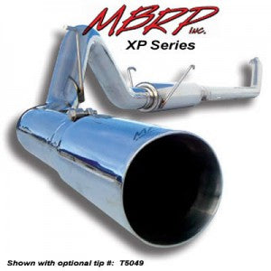 "MBRP 4"" Stainless Down Pipe Back With Tip"