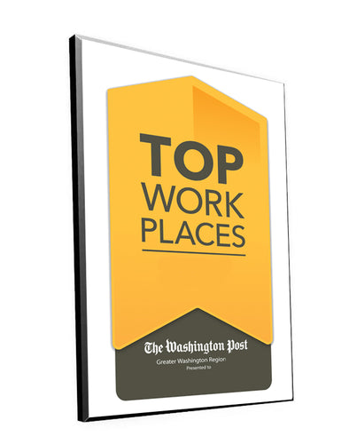 Washington Post - Nash | Top Workplaces Archival Plaque | 9