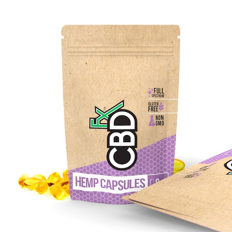 CBDfx - CBD Pills 8ct Pouch