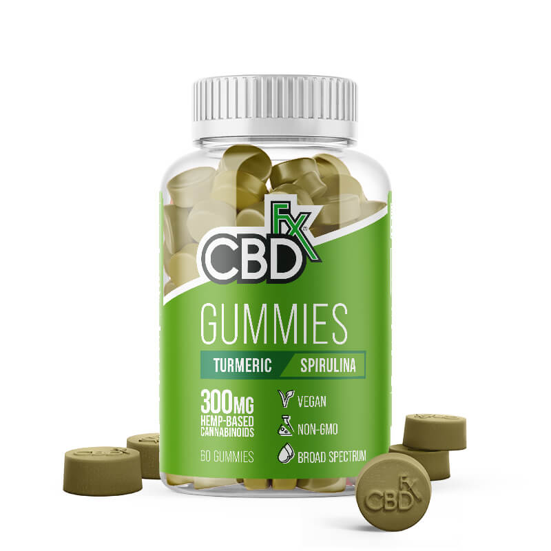 CBDfx - Gummies with Turmeric & Spirulina