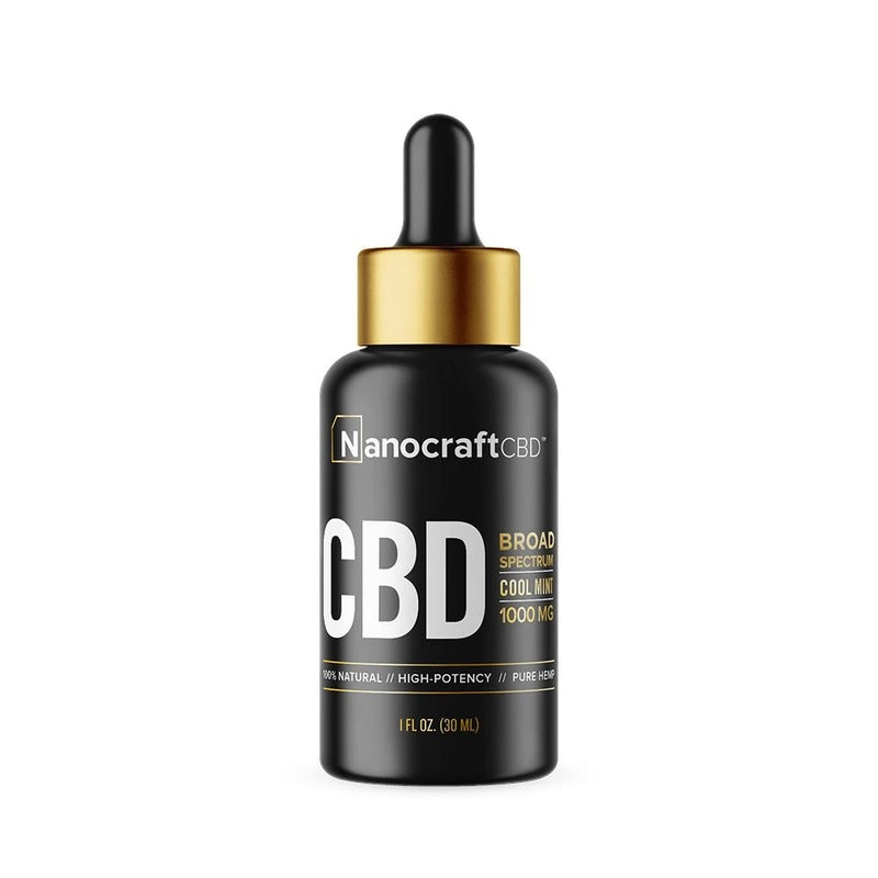 NanoCraft - CBD Oils Gold Series
