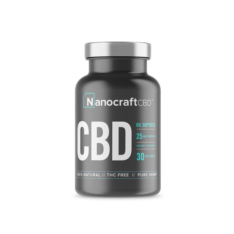 NanoCraft - Full Spectrum CBD Oil Softgels