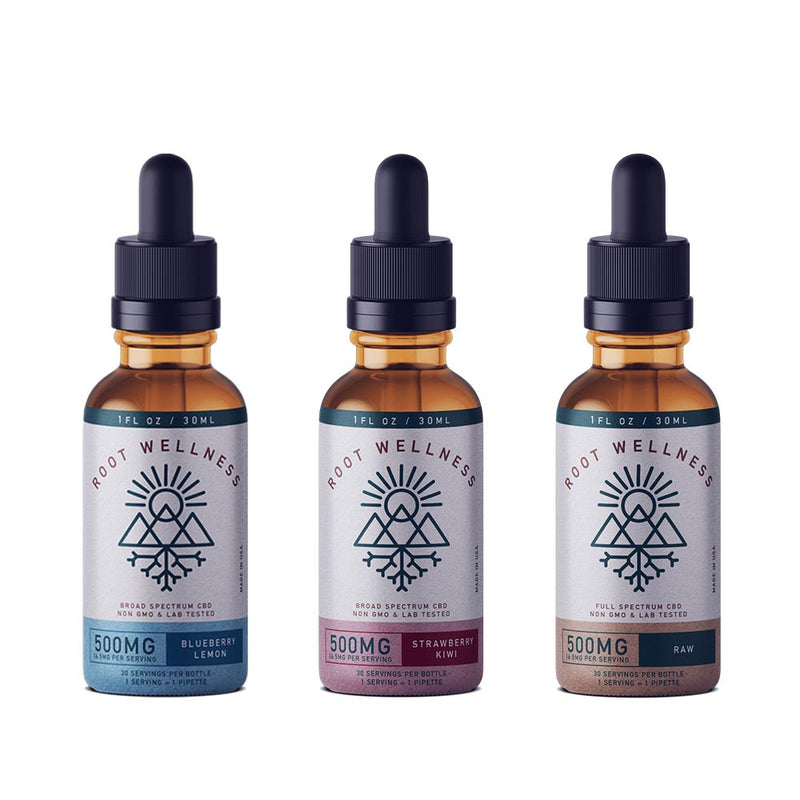 Root Wellness - Broad Spectrum CBD Oils