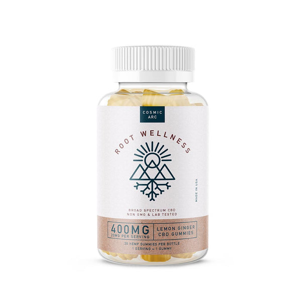 Root Wellness - Lemon Ginger Gummy