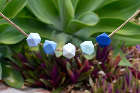 Ocean Hexagonal Necklace